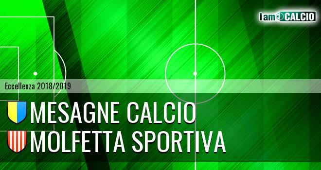 Mesagne Calcio - Molfetta Sportiva
