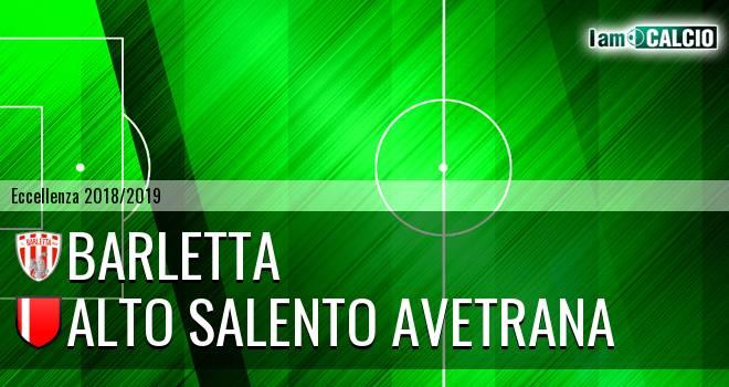 Barletta - Alto Salento Avetrana