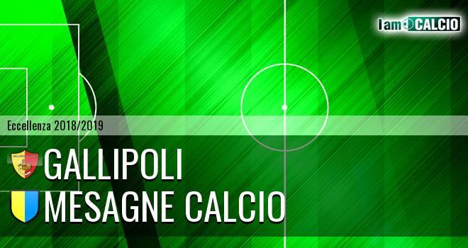 Gallipoli - Mesagne Calcio