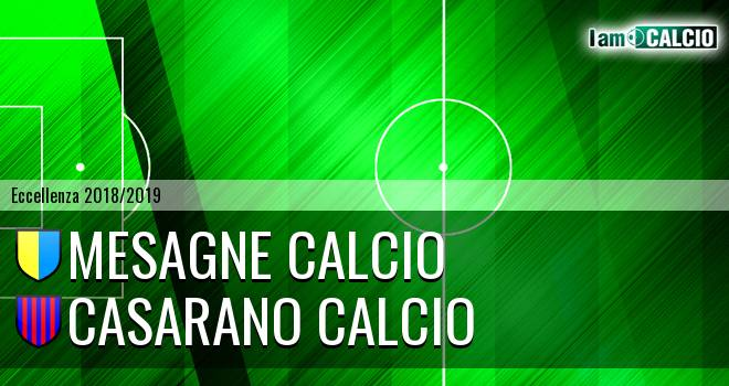 Mesagne Calcio - Casarano Calcio