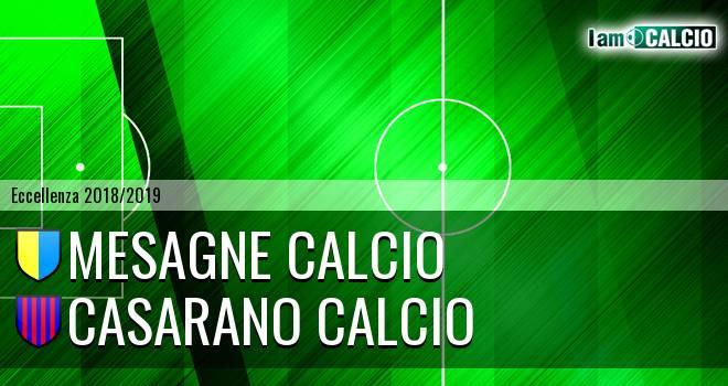 Mesagne Calcio - Casarano Calcio