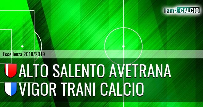 Alto Salento Avetrana - Vigor Trani Calcio