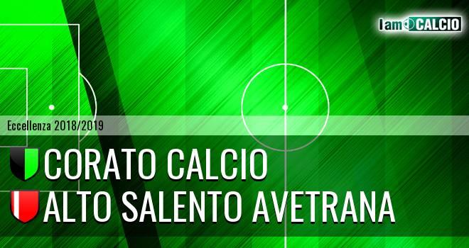 Corato Calcio - Alto Salento Avetrana