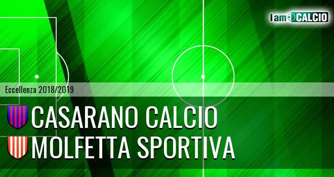 Casarano Calcio - Molfetta Sportiva