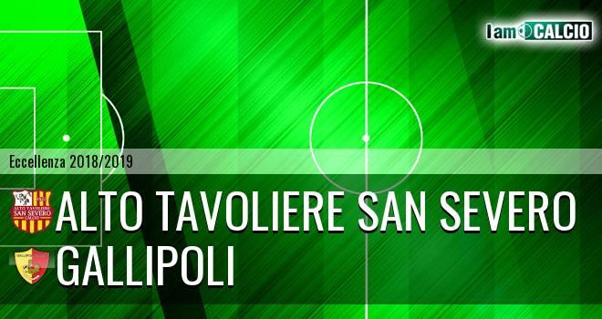 Alto Tavoliere San Severo - Gallipoli 0-1. Cronaca Diretta 27/01/2019