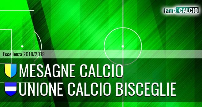 Mesagne Calcio - Unione Calcio Bisceglie
