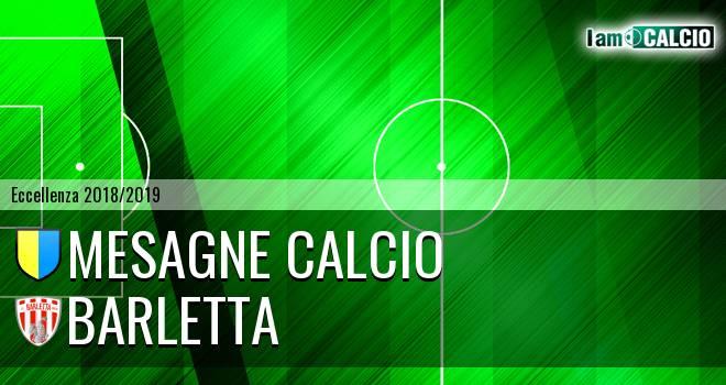 Mesagne Calcio - Barletta
