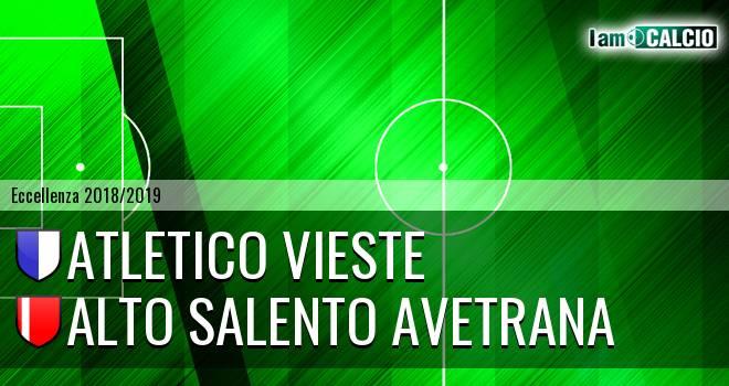 Atletico Vieste - Alto Salento Avetrana