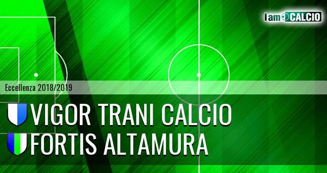 Vigor Trani Calcio - Fortis Altamura