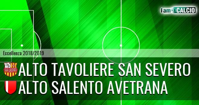 Alto Tavoliere San Severo - Avetrana Calcio