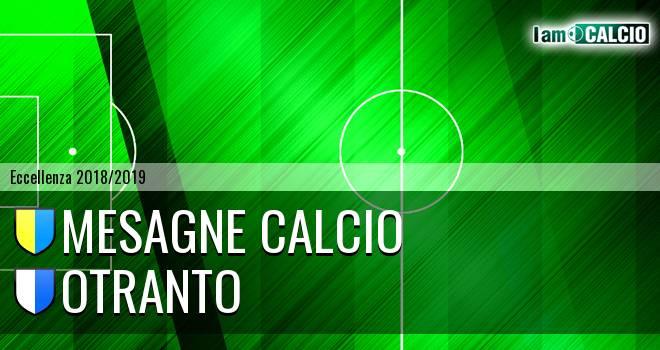 Mesagne Calcio - Otranto