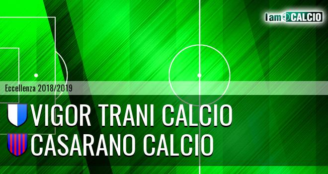 Vigor Trani Calcio - Casarano Calcio