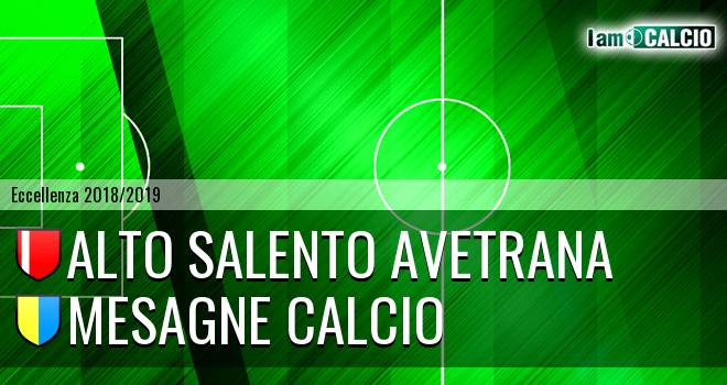 Alto Salento Avetrana - Mesagne Calcio