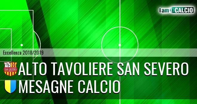 Alto Tavoliere San Severo - Mesagne Calcio