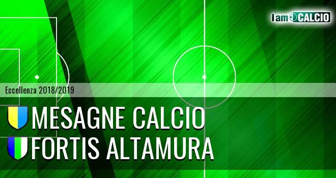 Mesagne Calcio - Fortis Altamura