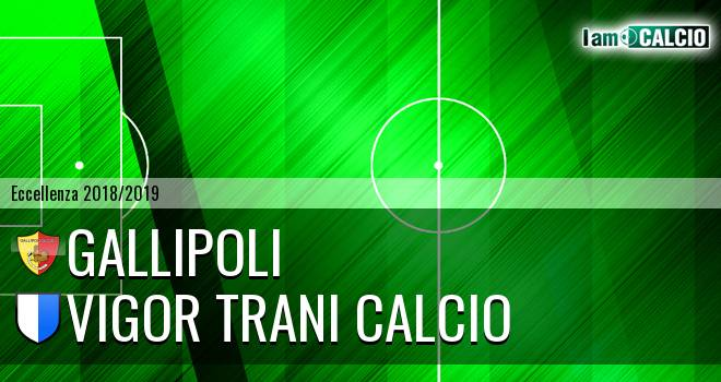 Gallipoli - Vigor Trani Calcio