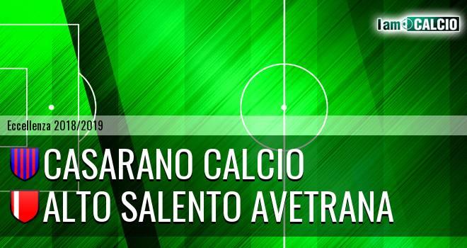 Casarano Calcio - Alto Salento Avetrana