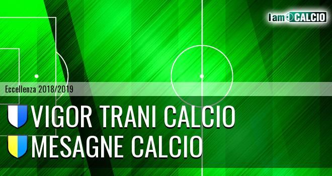 Vigor Trani Calcio - Mesagne Calcio