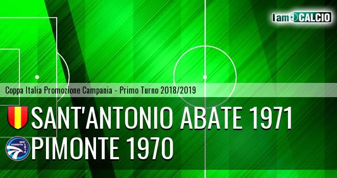 Sant'Antonio Abate 1971 - Pimonte 1970