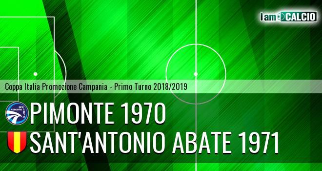Pimonte 1970 - Sant'Antonio Abate 1971