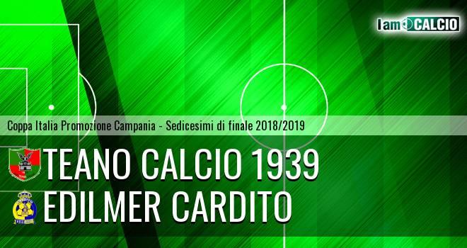 Teano Calcio 1939 - Edilmer Cardito