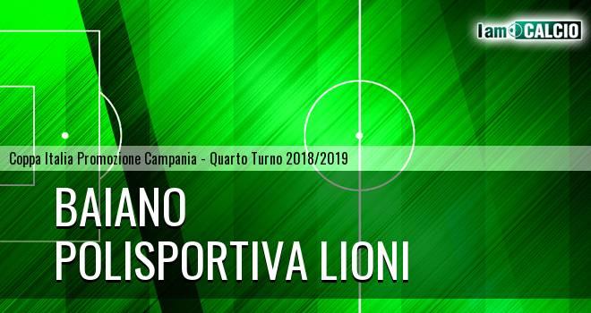 Baiano - Polisportiva Lioni