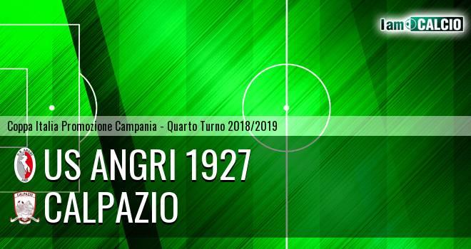 Us Angri 1927 - Calpazio 2-0. Cronaca Diretta 05/12/2018