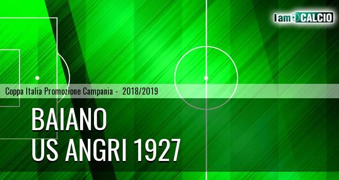Baiano - Us Angri 1927 1-1. Cronaca Diretta 20/02/2019