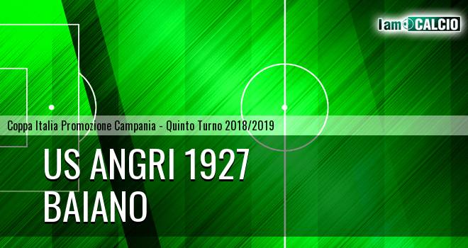 Us Angri 1927 - Baiano 1-0. Cronaca Diretta 06/02/2019