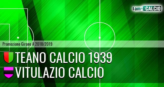 Teano Calcio 1939 - Vitulazio Calcio
