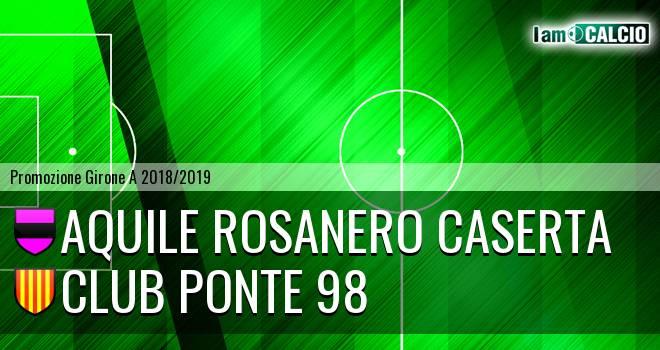 Aquile Rosanero Caserta - Club Ponte 98