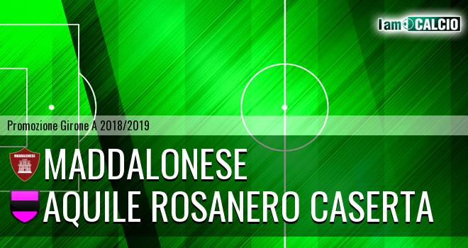 Maddalonese - Aquile Rosanero Caserta
