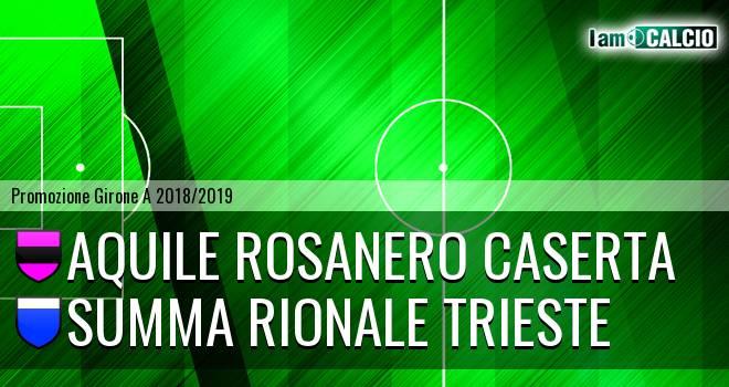 Aquile Rosanero Caserta - Summa Rionale Trieste