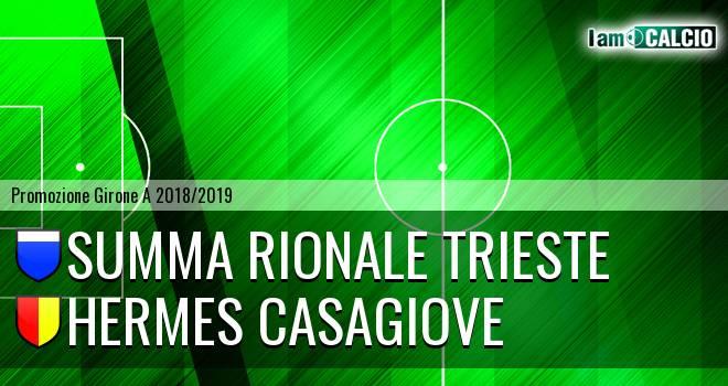 Summa Rionale Trieste - Hermes Casagiove