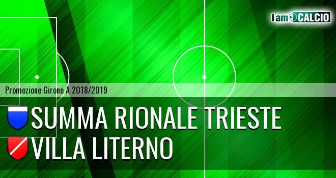 Summa Rionale Trieste - Villa Literno