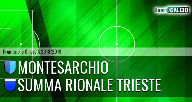 Montesarchio - Summa Rionale Trieste