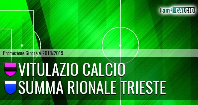 Vitulazio Calcio - Summa Rionale Trieste