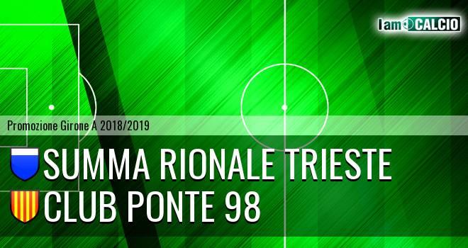 Summa Rionale Trieste - Club Ponte 98