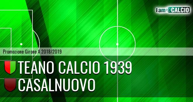 Teano Calcio 1939 - Casalnuovo