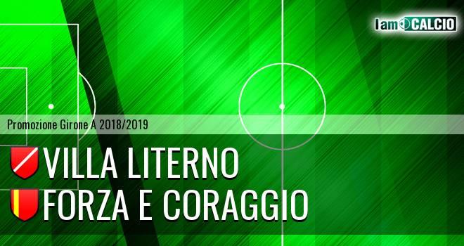 Villa Literno - Forza e Coraggio 1-0. Cronaca Diretta 02/02/2019