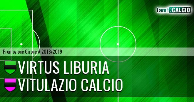 Virtus Liburia - Vitulazio Calcio