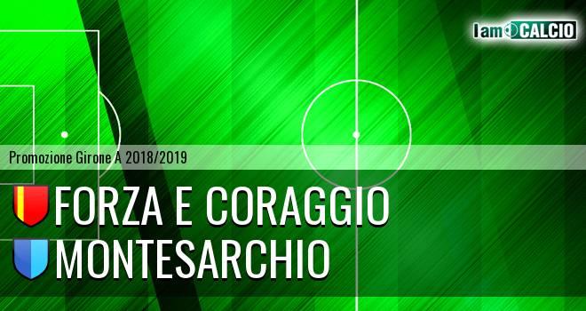 Forza e Coraggio - Montesarchio 2-2. Cronaca Diretta 09/02/2019