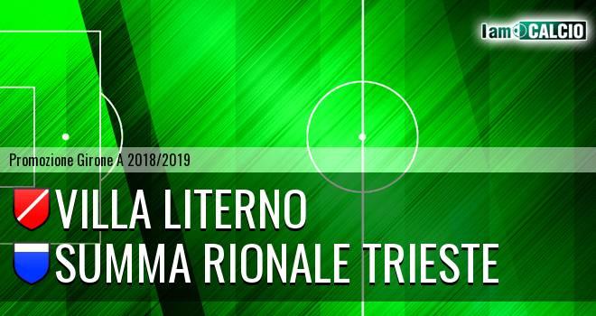 Villa Literno - Summa Rionale Trieste