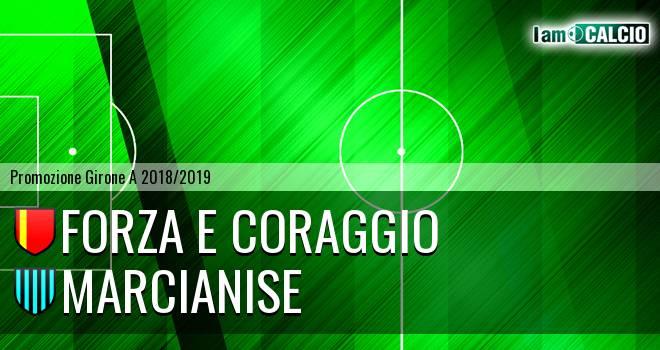 Forza e Coraggio - Marcianise 0-0. Cronaca Diretta 16/03/2019
