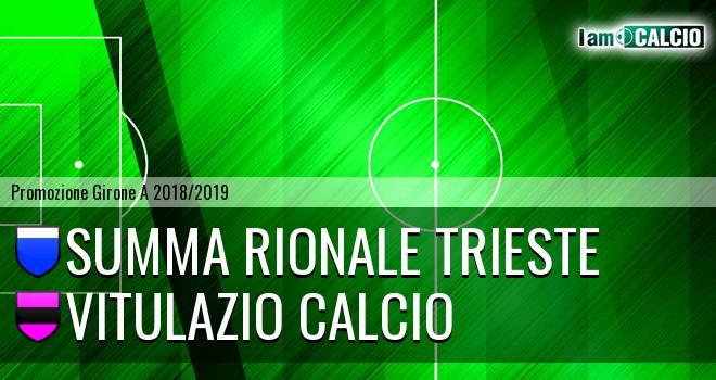 Summa Rionale Trieste - Vitulazio Calcio