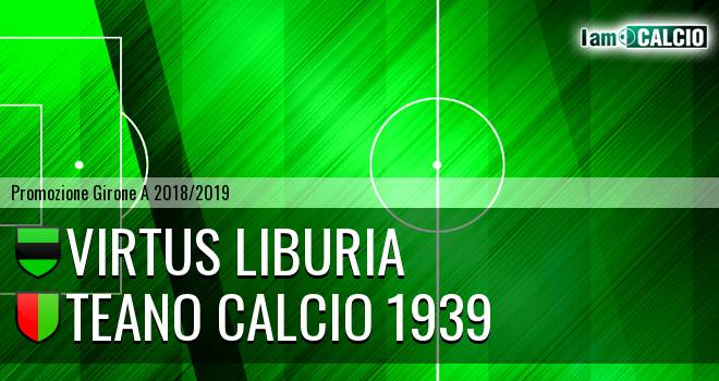 Virtus Liburia - Teano Calcio 1939