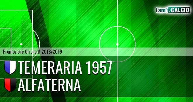 Temeraria 1957 - Alfaterna