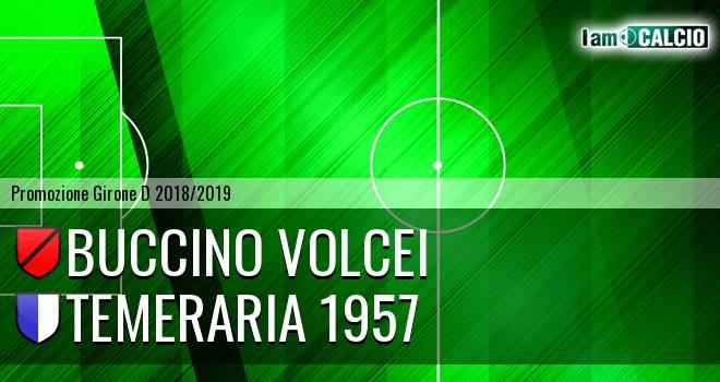 Buccino Volcei - Temeraria 1957