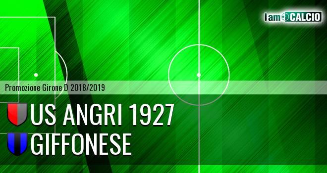 Us Angri 1927 - Giffonese