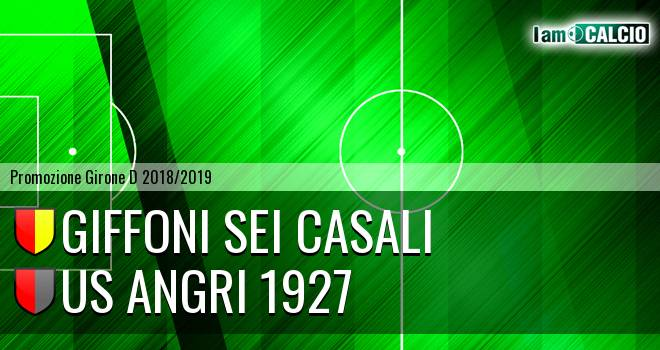 Giffoni Sei Casali - Us Angri 1927